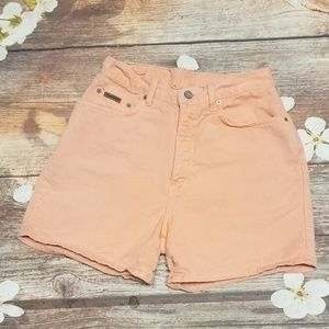 Calvin Klein jeans high rise shorts